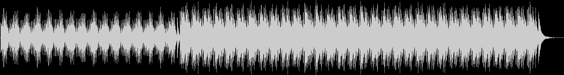 「澄んだ映像向き」ゆるやかなピアノの未再生の波形