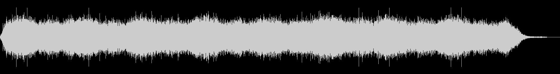 背景音 洞窟 3の未再生の波形