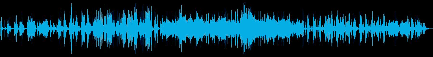 ドビュッシー 月の光 ピアノの再生済みの波形