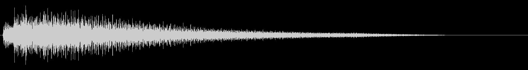 【ピアノ生演奏】切ない雰囲気のジングルの未再生の波形