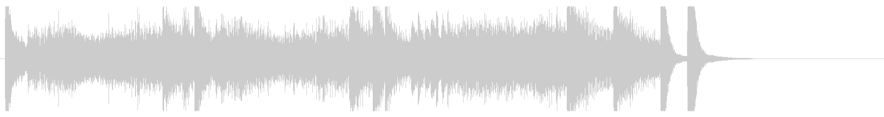 """Chopin's """"Revolution""""  in 15 seconds's unreproduced waveform"""