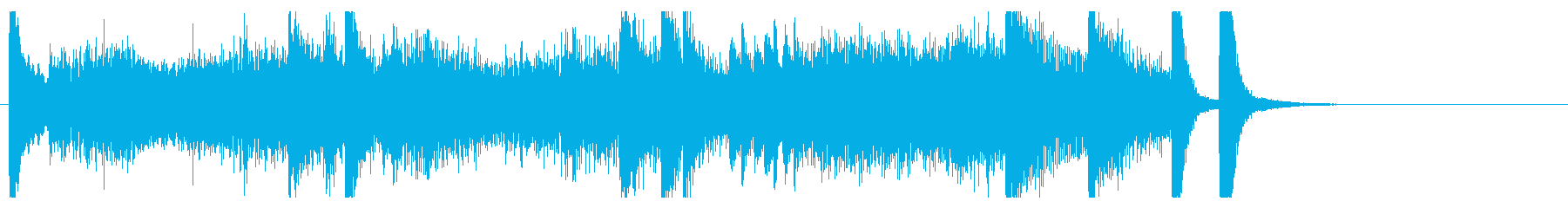 """Chopin's """"Revolution""""  in 15 seconds's reproduced waveform"""