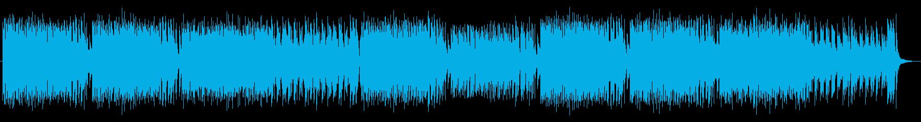 森で動物たちが踊ってそうなケルト音楽の再生済みの波形