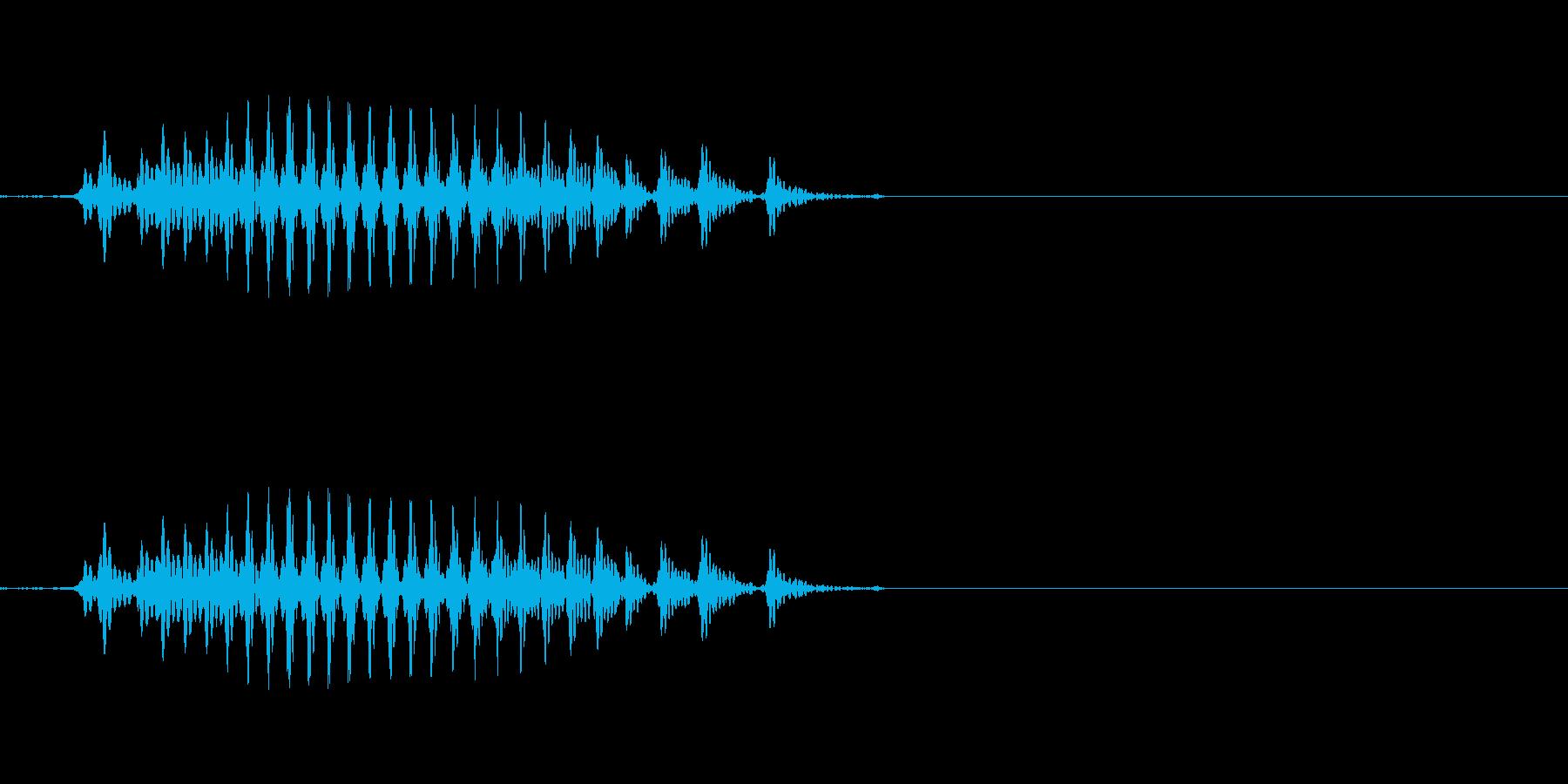 リュウ 六(6) 中国語(北京語) 男の再生済みの波形