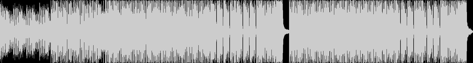 近未来を予感させるEDM系楽曲の未再生の波形