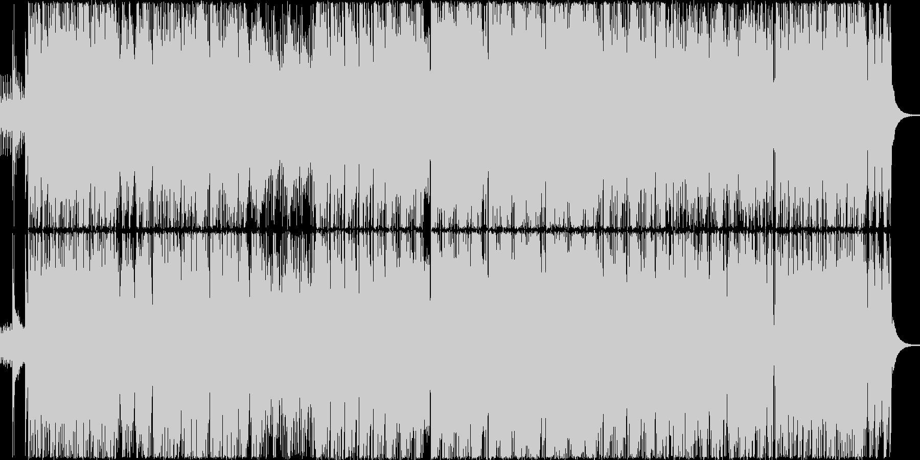 ジャズの要素とドラムンベースのEDMの未再生の波形