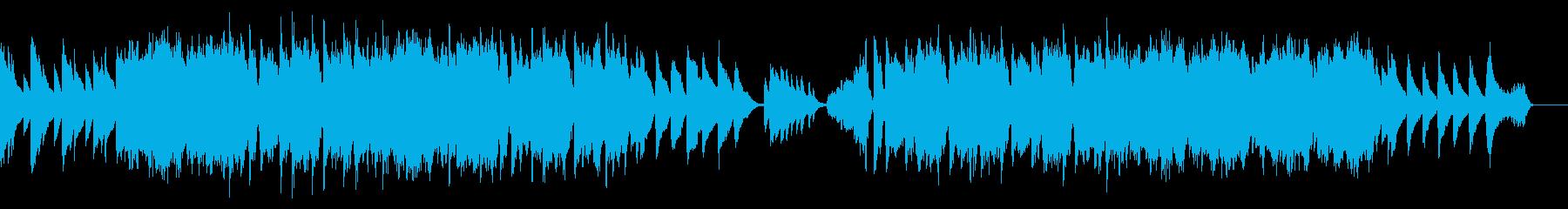 結婚式など センチメンタルなピアノ楽曲の再生済みの波形