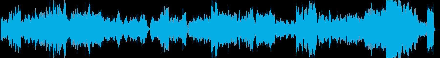 2つのアラベスク第1番オーケストラ編曲版の再生済みの波形