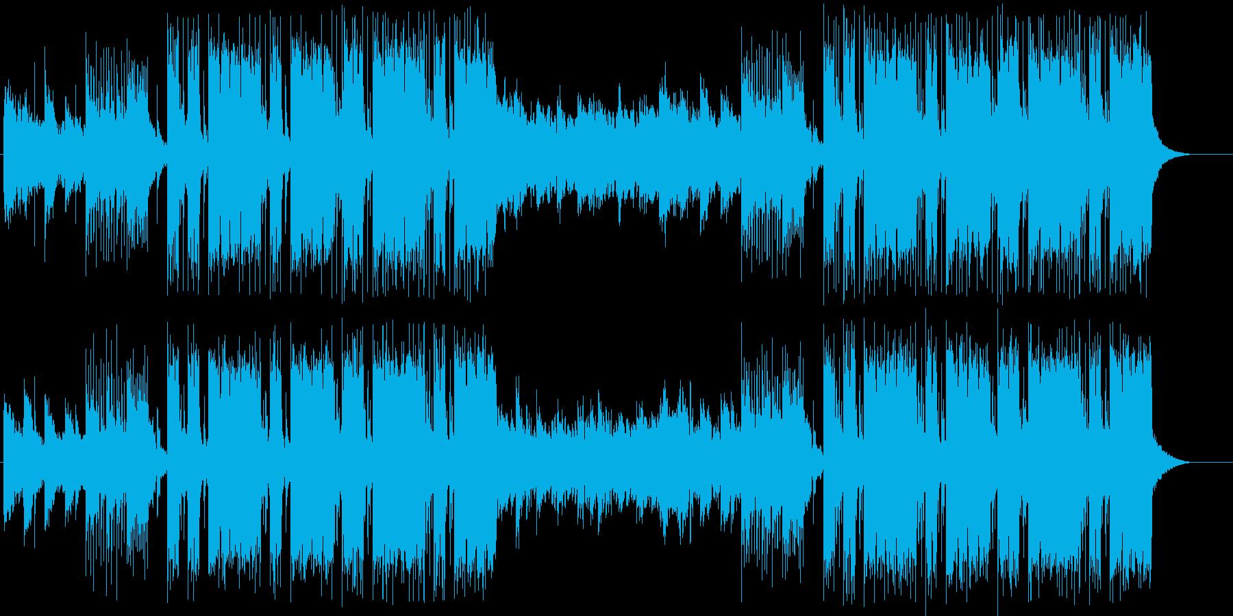 和風Future Bass・お洒落の再生済みの波形