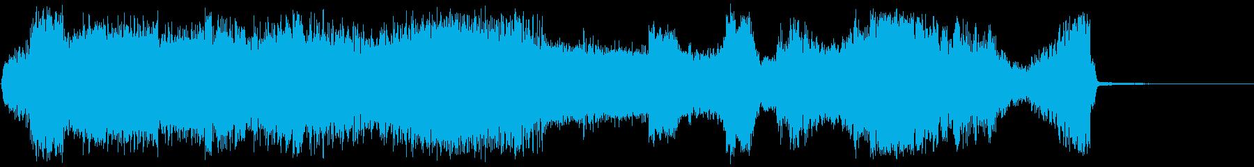 放射干渉の再生済みの波形