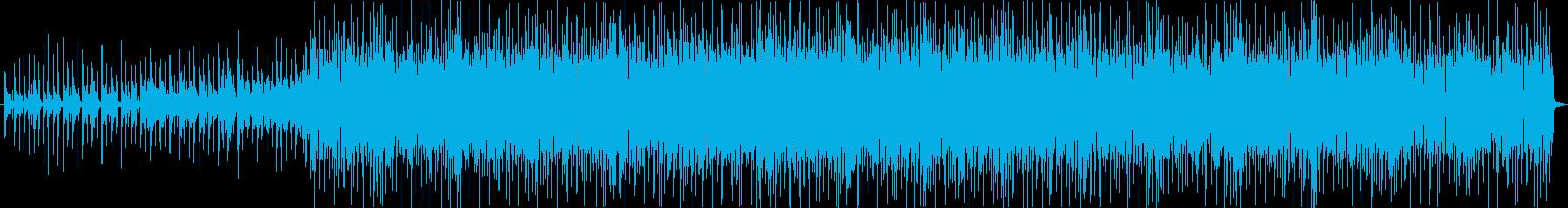 アップビートとボッピング、ライトと...の再生済みの波形