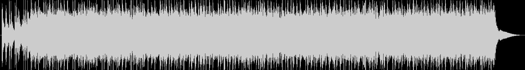 トーク用BGM(明るいノリのロック)の未再生の波形