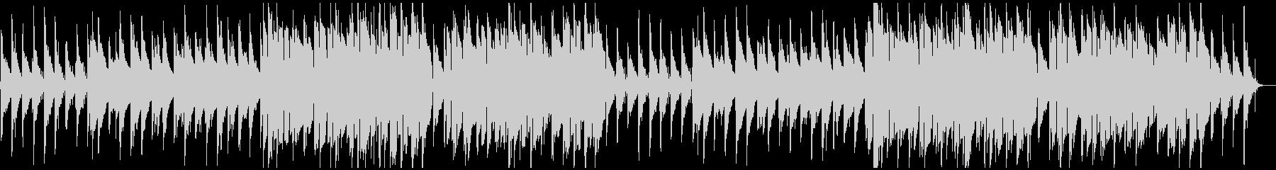 ちょっぴり感傷的なローファイヒップホップの未再生の波形