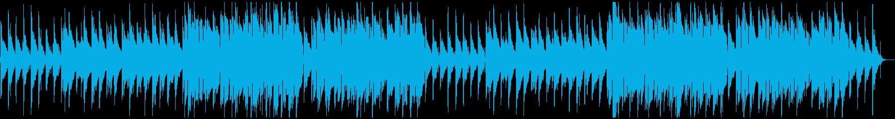 ちょっぴり感傷的なローファイヒップホップの再生済みの波形