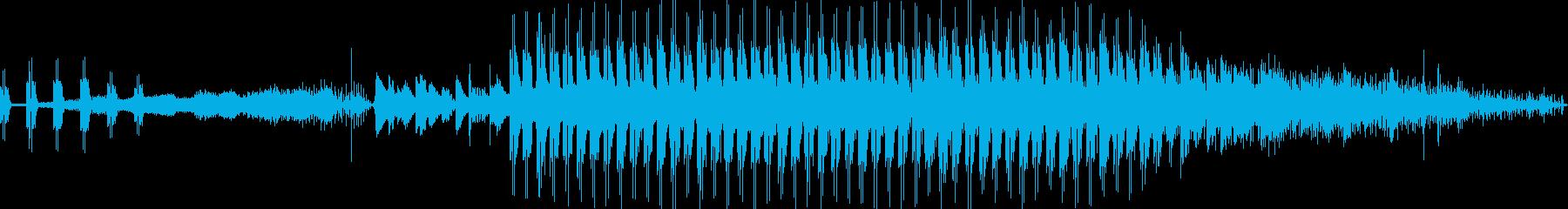 イージーリスニング、背景、前景、テ...の再生済みの波形