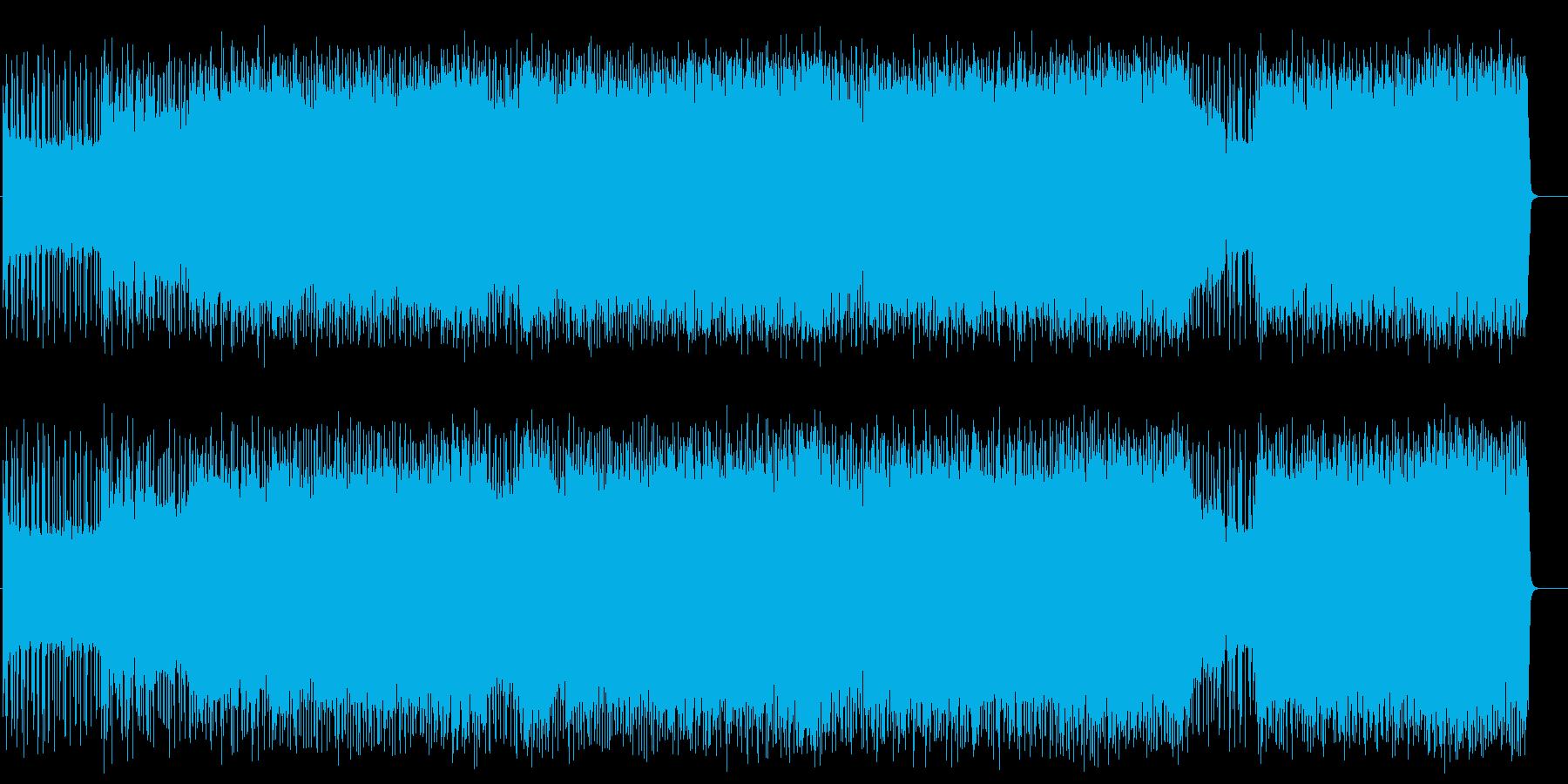 レーサー達の熱くパワフルなハードR&Rの再生済みの波形