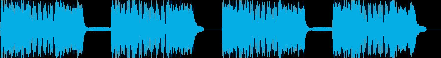 サイレン siren 警報 アラート 1の再生済みの波形