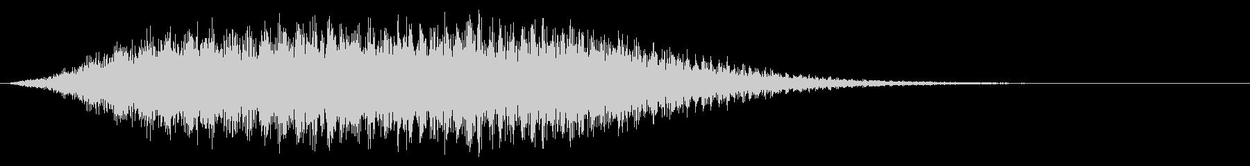 シューッという音EC07_86_5の未再生の波形