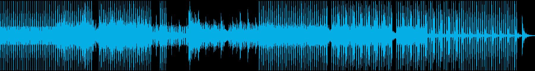 切なく悲しい(恐怖な)感じのテクノEDMの再生済みの波形
