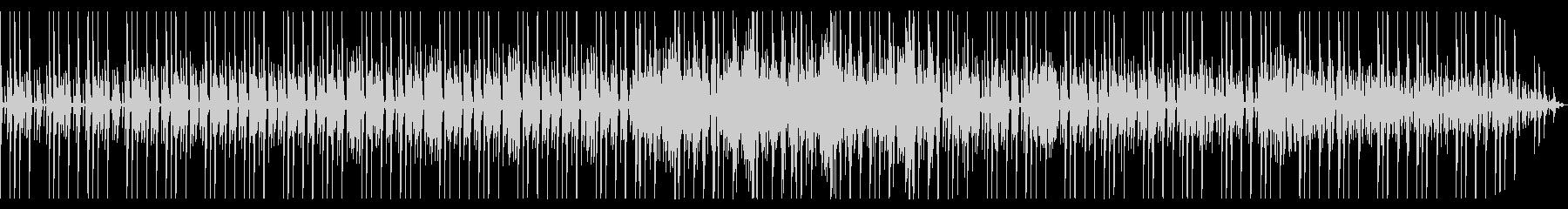 トーク動画などのBGM用テクノの未再生の波形