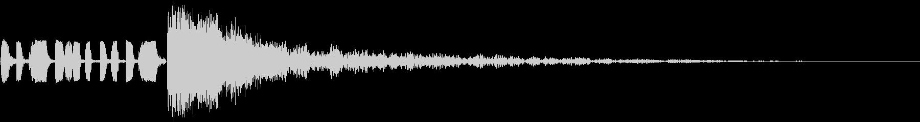ラッシュミービニールスタイルの未再生の波形