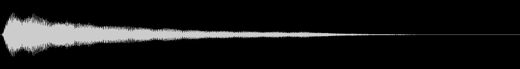 残念・失敗・呆れ・コミカル Low-8の未再生の波形