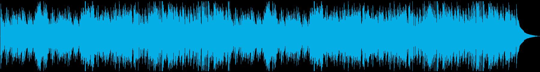 サラサラ ジャズ ゆっくり 魅惑 ピアノの再生済みの波形
