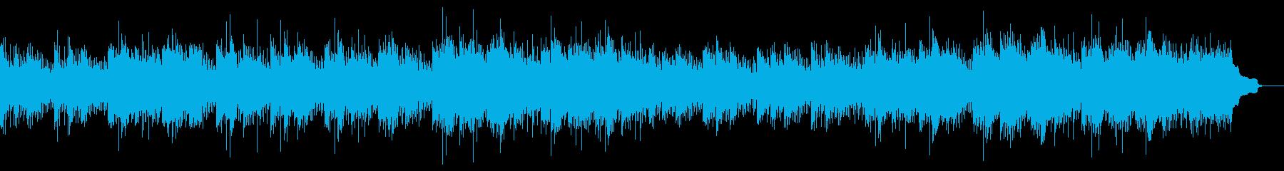 ドラム無し企業VP 清涼感・クリーンな曲の再生済みの波形