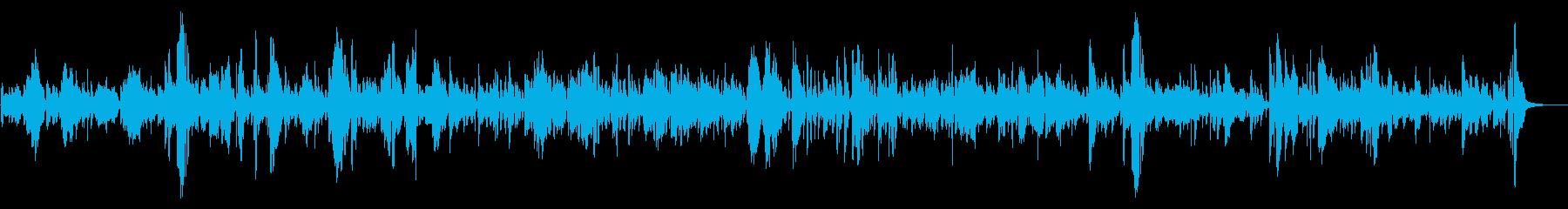 ジャズ|優しい音色に癒されるお洒落ジャズの再生済みの波形
