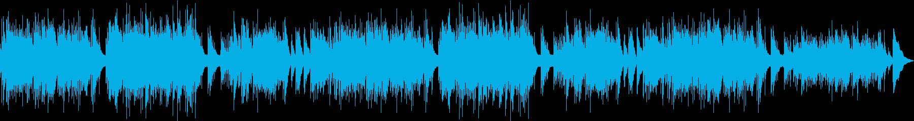 ACギター/晩夏の夕暮れ/ひぐらしOFFの再生済みの波形