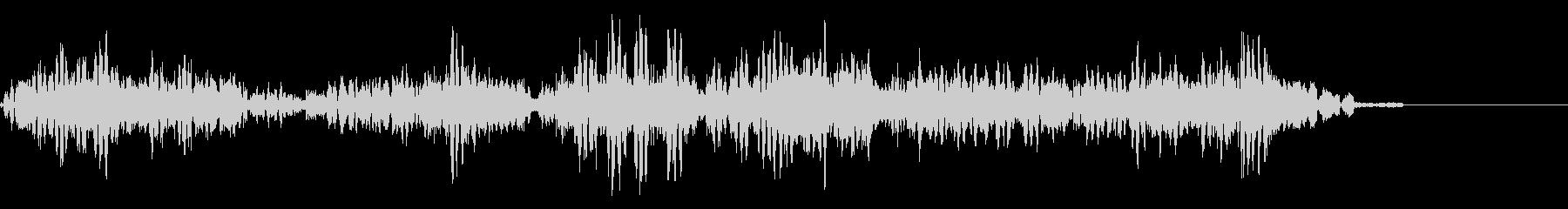 KANT 近未来宇宙人の声効果音1の未再生の波形