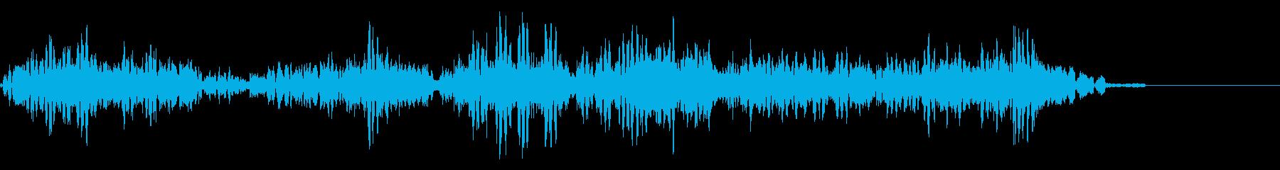 KANT 近未来宇宙人の声効果音1の再生済みの波形