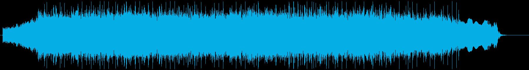 エモでラウドなギターロックの再生済みの波形