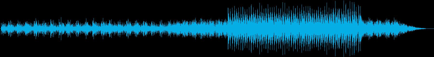 トロピカルなミニマルテクノの再生済みの波形