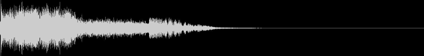 衝撃 金属音 恐怖 震撼 ホラー 14の未再生の波形