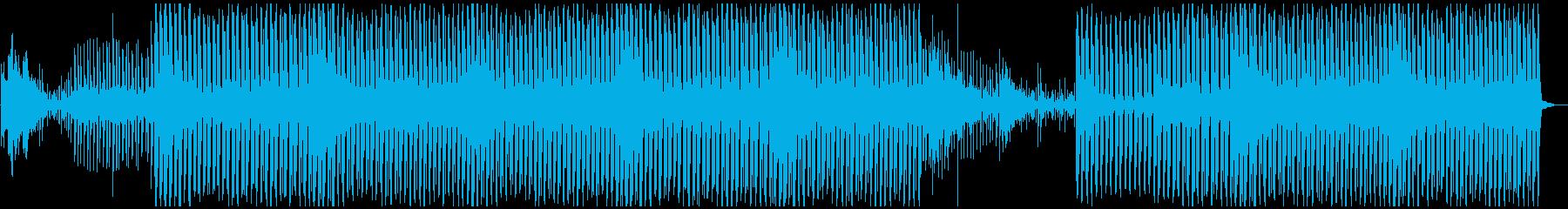 神秘的でセクシーなディープハウスの再生済みの波形