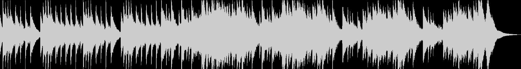 しっとりとした琴と尺八の未再生の波形