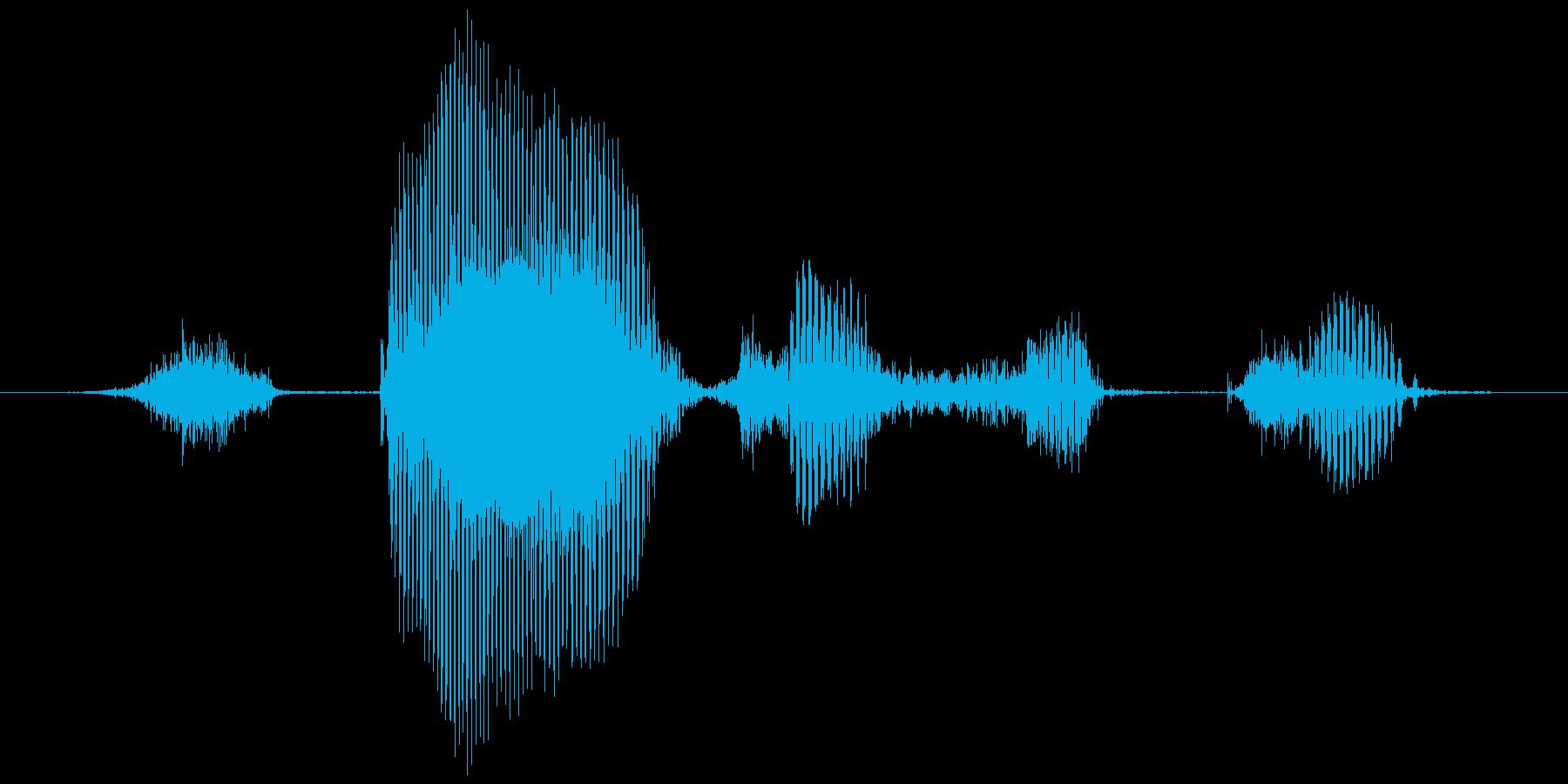 ステージ8(はち)の再生済みの波形