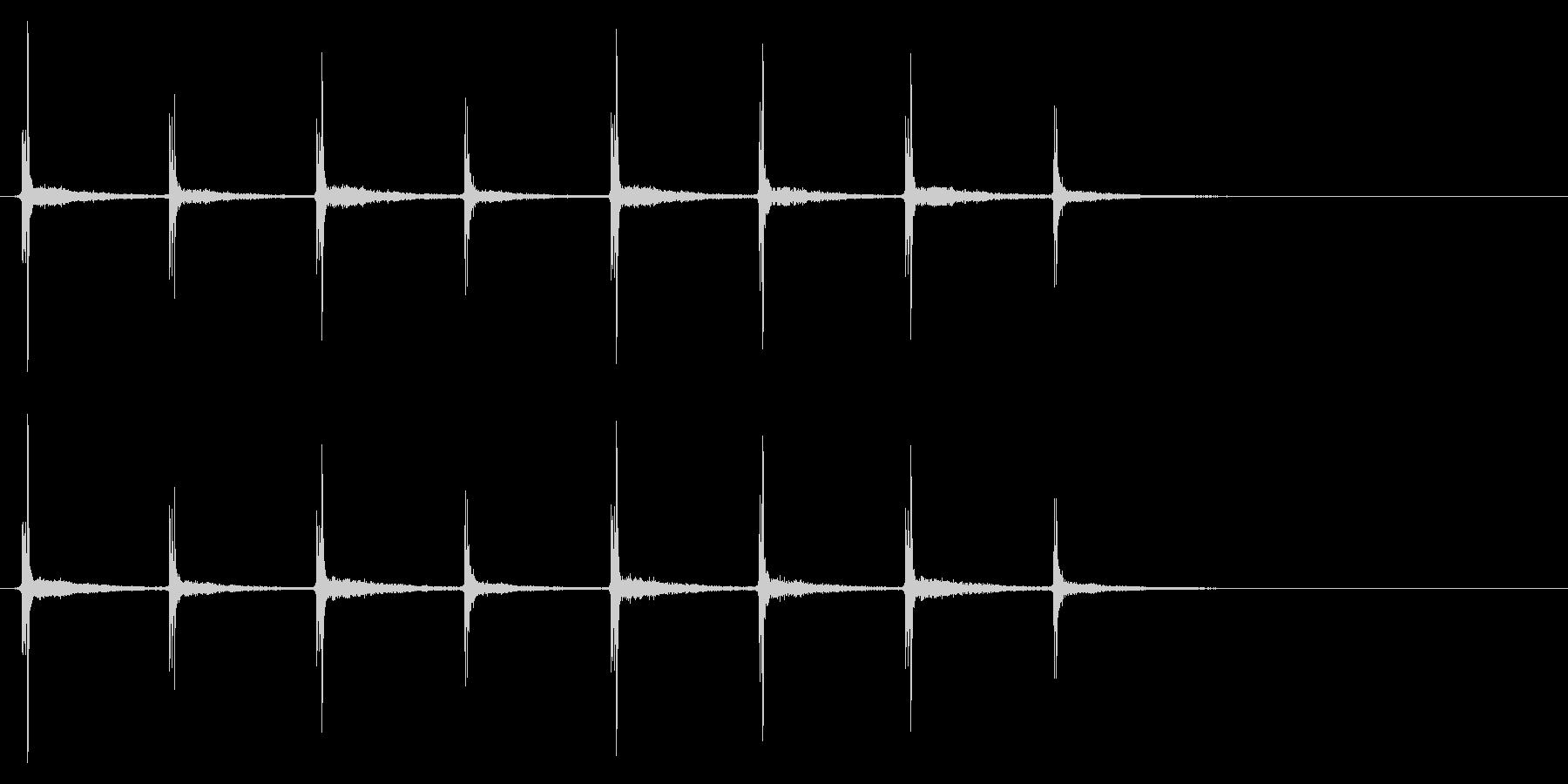 時計 秒針03-7(リバーブ 1)の未再生の波形