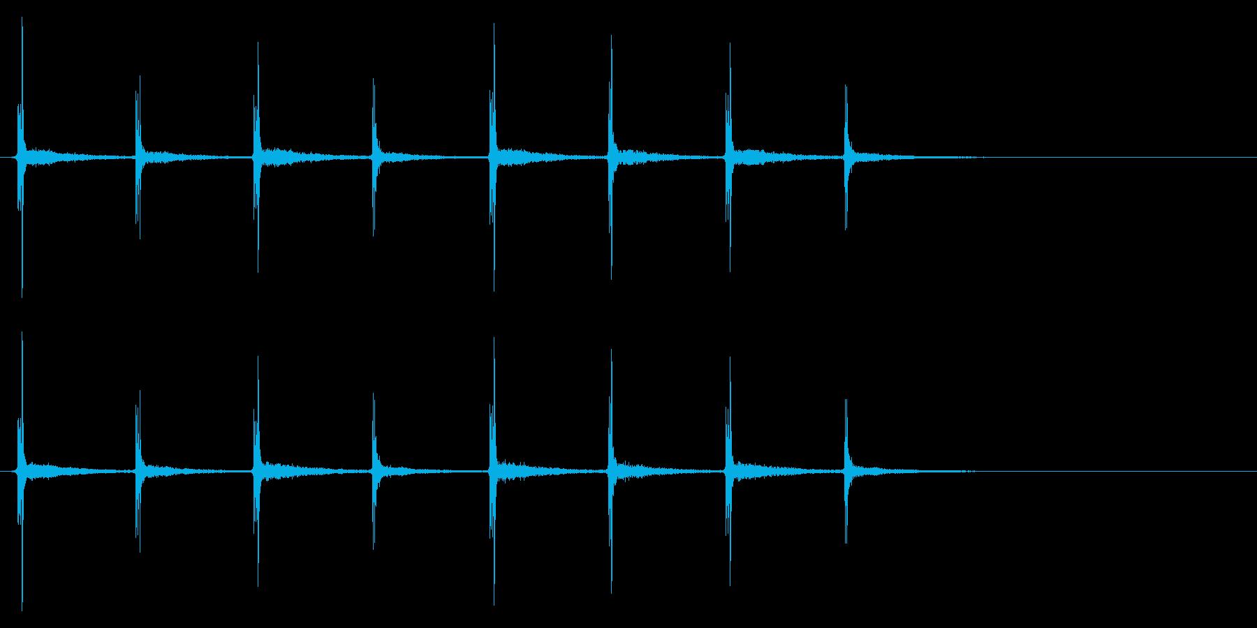 時計 秒針03-7(リバーブ 1)の再生済みの波形