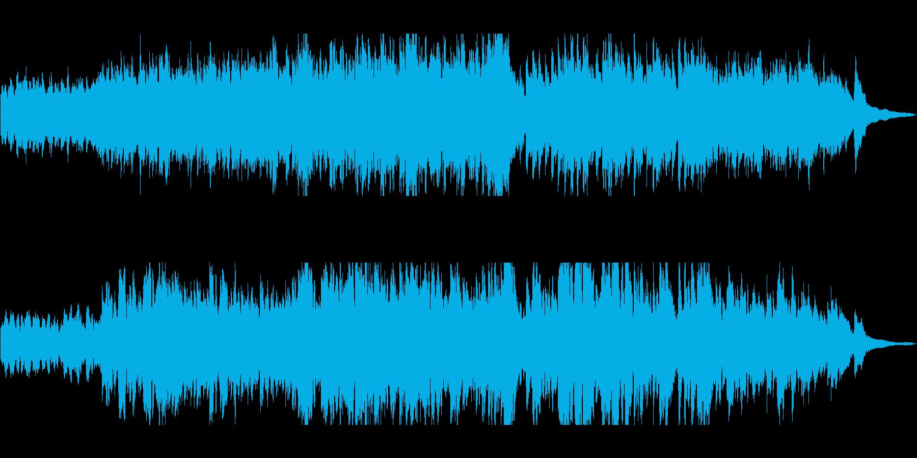 ピアノのもの悲しい旋律が印象のバラードの再生済みの波形
