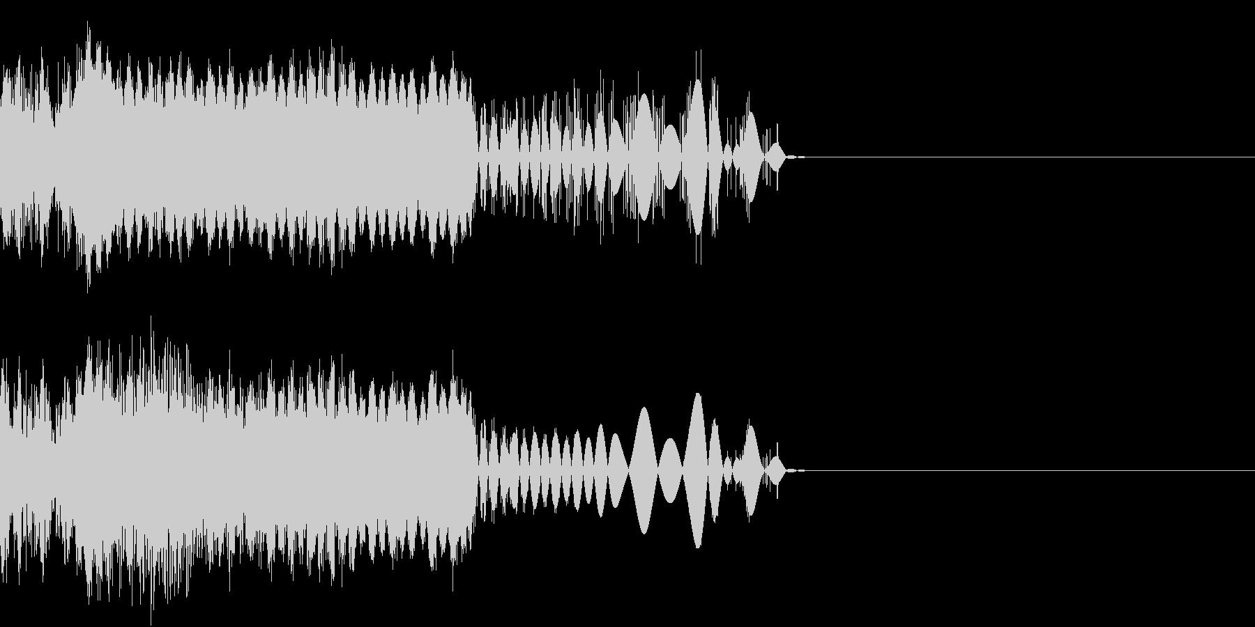 デジタル FX 04 動作の未再生の波形