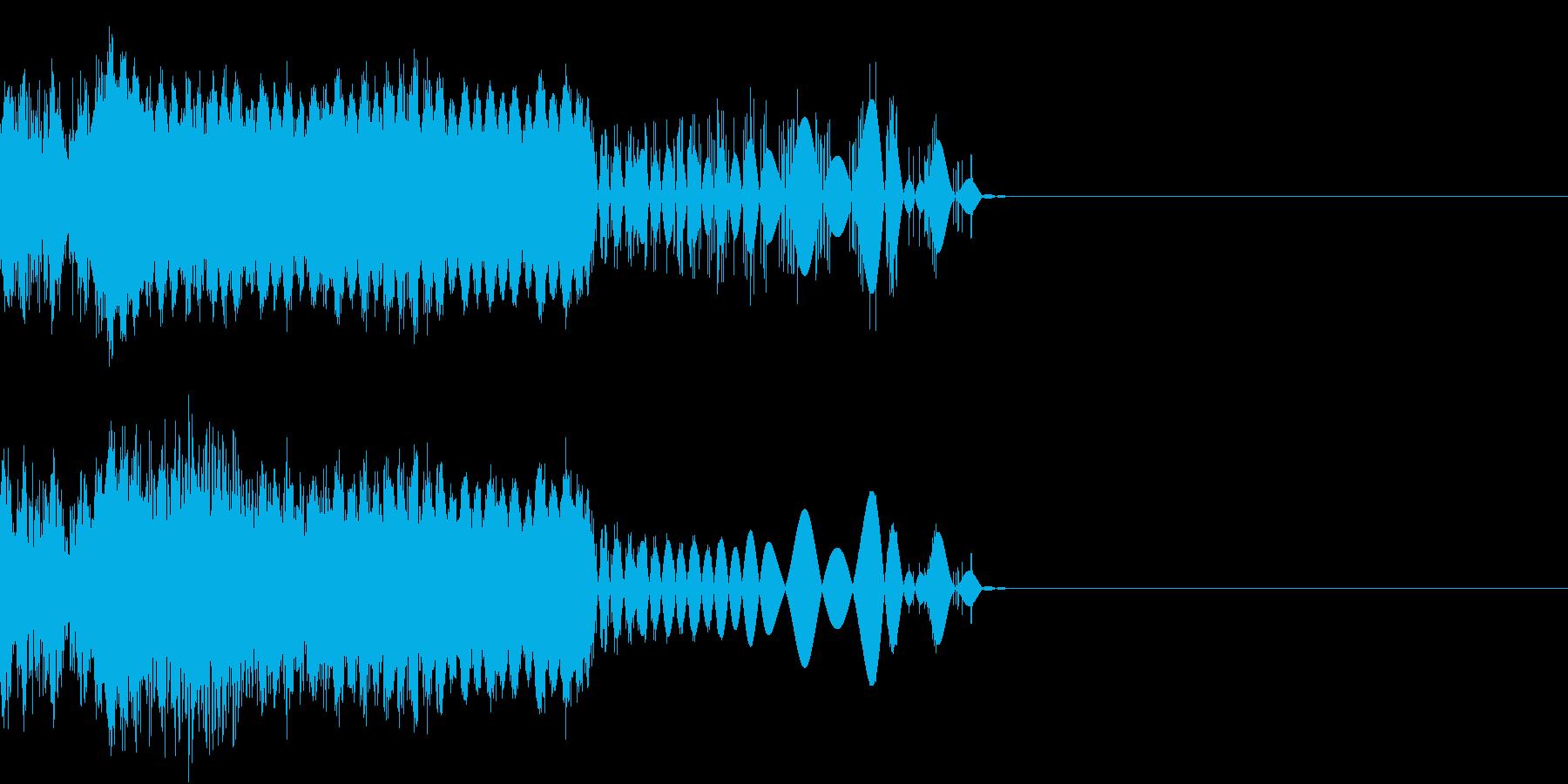 デジタル FX 04 動作の再生済みの波形