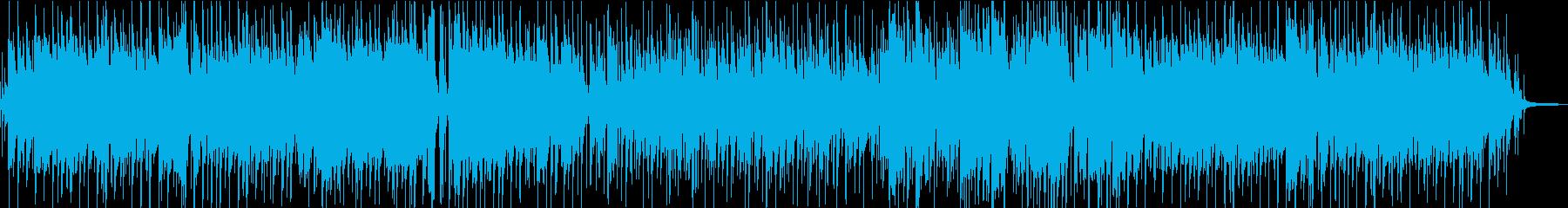 優しく軽快なトランペットジャズワルツの再生済みの波形