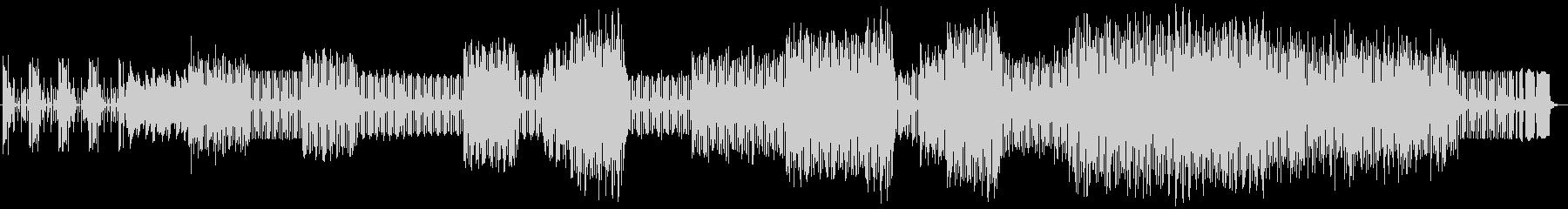 Jupitar-8の低音で延々七拍子の未再生の波形
