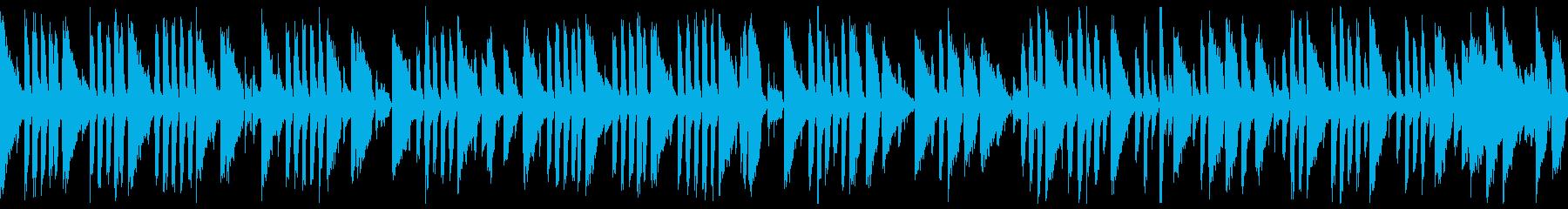 Jazz Piano - Rain, melancholy, dark (loop)'s reproduced waveform
