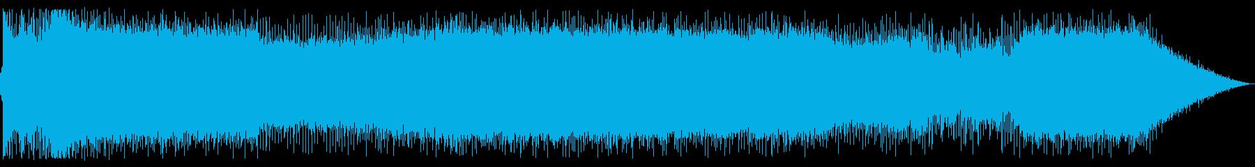 ストリングスとシンセとピアノの壮大バトルの再生済みの波形