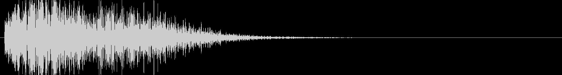 爆発・衝撃波・ソニックブーム3の未再生の波形
