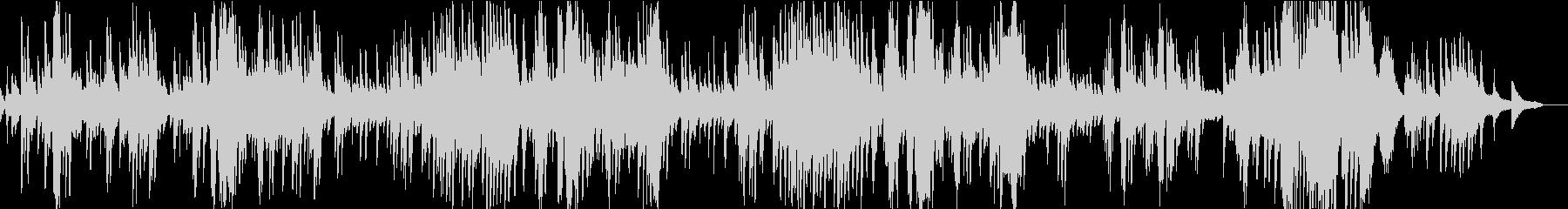 ショパンのノクターン第2番の未再生の波形