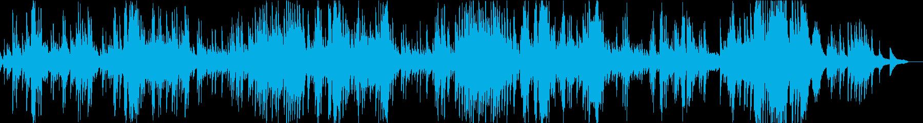 ショパンのノクターン第2番の再生済みの波形